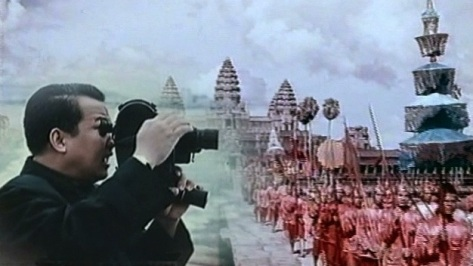 Sihanouk with camera