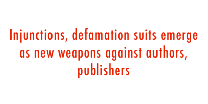 defamation suits